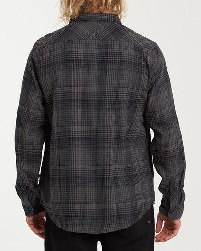 2 Freemont Flannel Shirt Black M523VBFR Billabong
