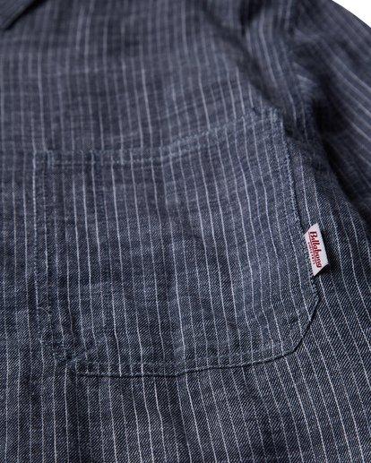 1 97 Workwear Long Sleeve Shirt Blue M531VBWO Billabong