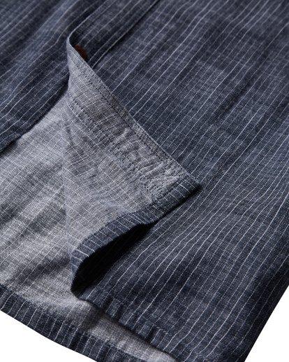 2 97 Workwear Long Sleeve Shirt Blue M531VBWO Billabong