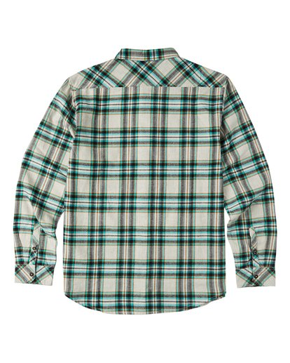 5 Coastline Flannel Shirt Red M5323BCO Billabong