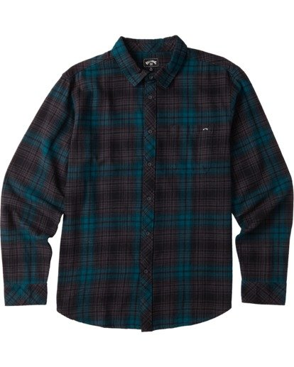 5 Coastline Flannel Shirt Black M5323BCO Billabong