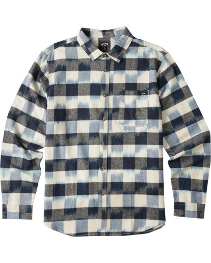 5 Coastline Flannel Shirt Blue M5323BCO Billabong