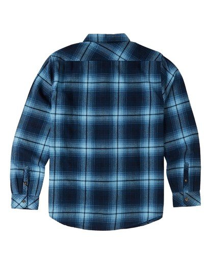 6 Coastline Flannel Shirt Blue M5323BCO Billabong