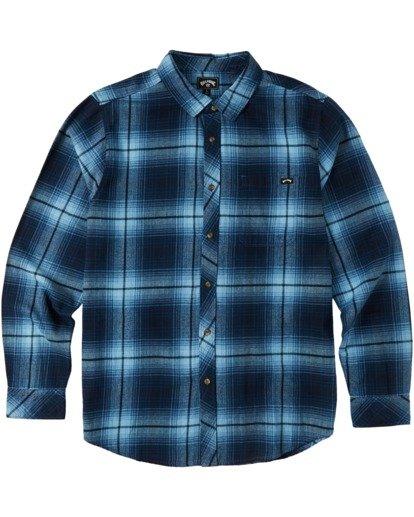 5 Coastline Flannel Shirt Blue M5323BCO Billabong