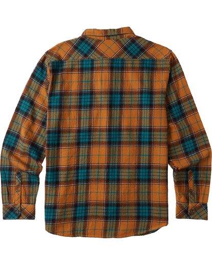 7 Coastline Flannel Shirt Multicolor M5323BCO Billabong