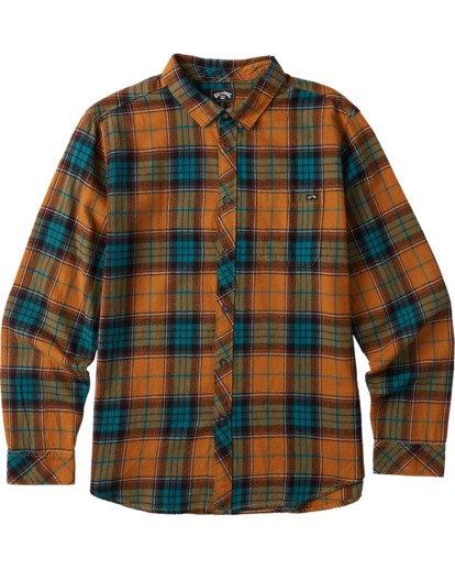 6 Coastline Flannel Shirt Multicolor M5323BCO Billabong
