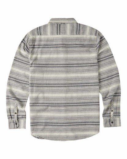 5 Coastline Flannel Shirt Beige M5323BCO Billabong