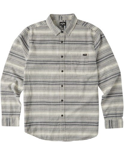 4 Coastline Flannel Shirt Beige M5323BCO Billabong