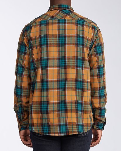 3 Coastline Flannel Shirt Multicolor M5323BCO Billabong