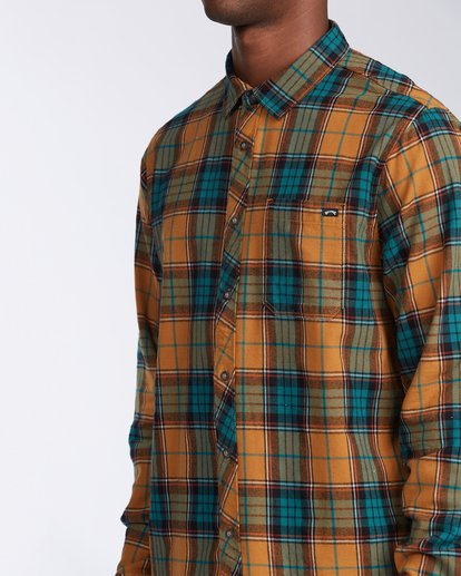 4 Coastline Flannel Shirt Multicolor M5323BCO Billabong