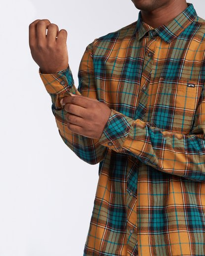 5 Coastline Flannel Shirt Multicolor M5323BCO Billabong