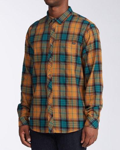 1 Coastline Flannel Shirt Multicolor M5323BCO Billabong