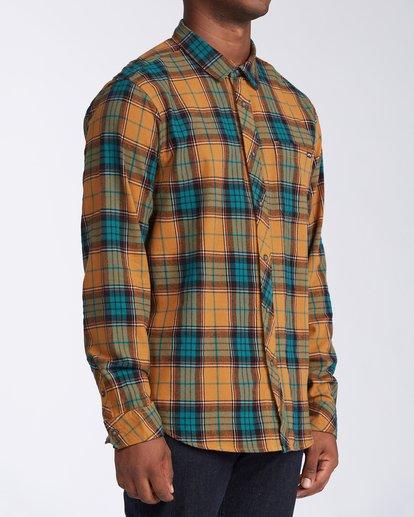2 Coastline Flannel Shirt Multicolor M5323BCO Billabong