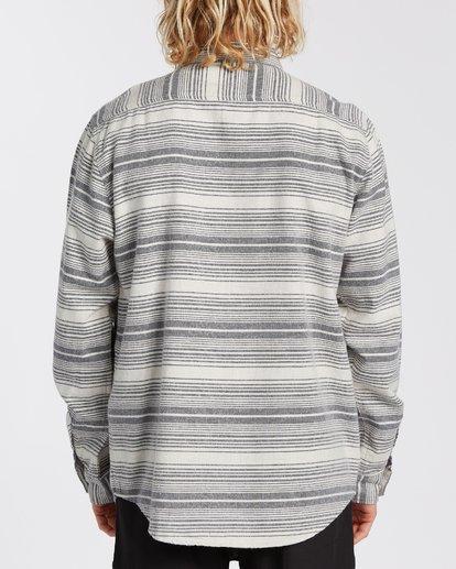 2 Coastline Flannel Shirt Beige M5323BCO Billabong