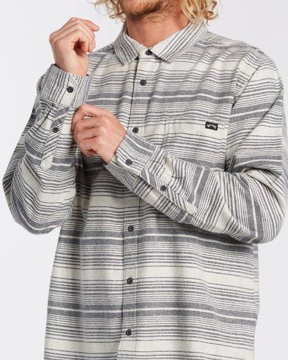 3 Coastline Flannel Shirt Beige M5323BCO Billabong