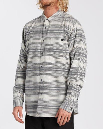 1 Coastline Flannel Shirt Beige M5323BCO Billabong