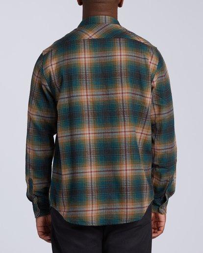 4 Coastline Flannel Shirt Black M5323BCO Billabong