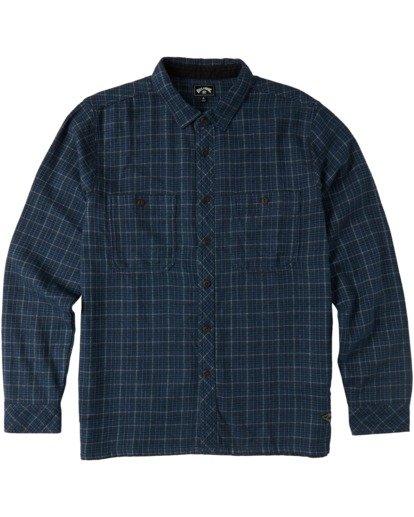 4 Offshore Flannel Shirt Blue M5353BSB Billabong