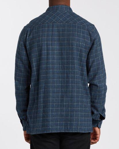 2 Offshore Flannel Shirt Blue M5353BSB Billabong