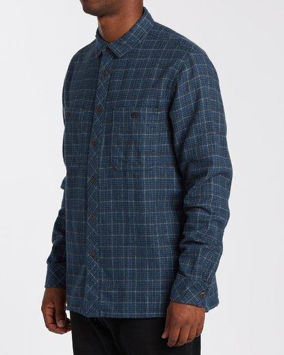1 Offshore Flannel Shirt Blue M5353BSB Billabong