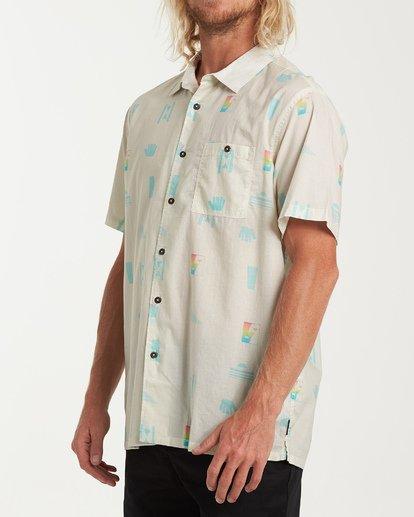 1 Online Short Sleeve Shirt Beige M547WBLA Billabong