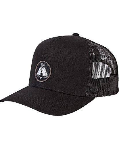 2 Onyaparko Trucker Hat Noir M5CT51BIMU Billabong