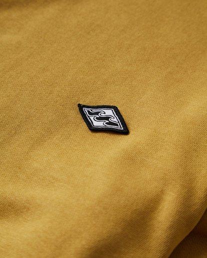 1 Wave Washed Crew Sweater Yellow M613VBWC Billabong