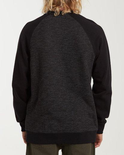 2 Balance Crew Sweater Black M615VBBC Billabong
