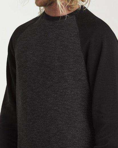 3 Balance Crew Sweater Black M615VBBC Billabong