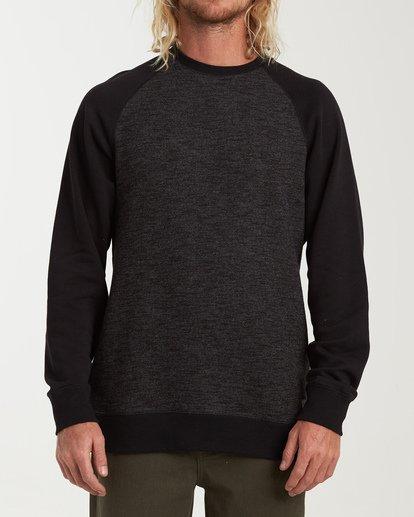 0 Balance Crew Sweater Black M615VBBC Billabong