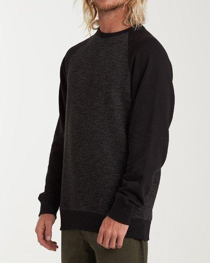 1 Balance Crew Sweater Black M615VBBC Billabong