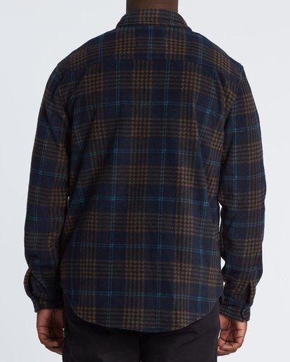 2 Furnace Flannel Shirt Blue M6271BFF Billabong