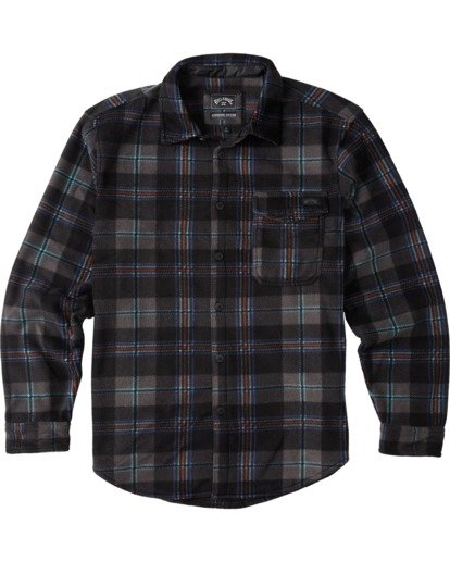 4 Furnace Flannel Black M6273BFF Billabong