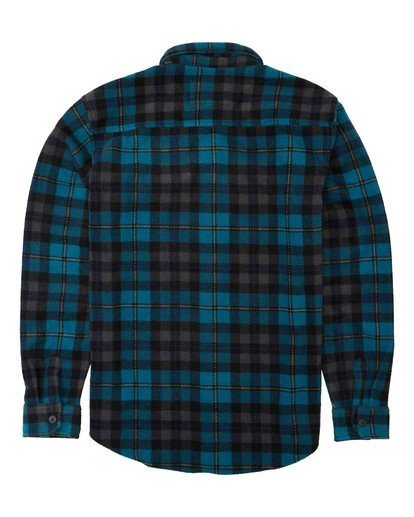 5 Furnace Flannel Blue M6273BFF Billabong