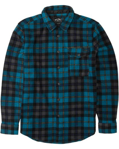 4 Furnace Flannel Blue M6273BFF Billabong
