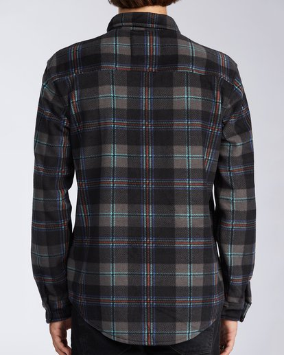 2 Furnace Flannel Black M6273BFF Billabong