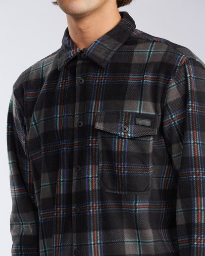 3 Furnace Flannel Black M6273BFF Billabong