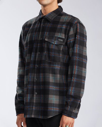 1 Furnace Flannel Black M6273BFF Billabong