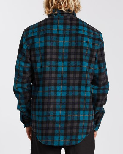 2 Furnace Flannel Blue M6273BFF Billabong