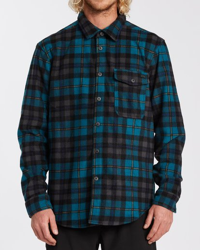 0 Furnace Flannel Blue M6273BFF Billabong
