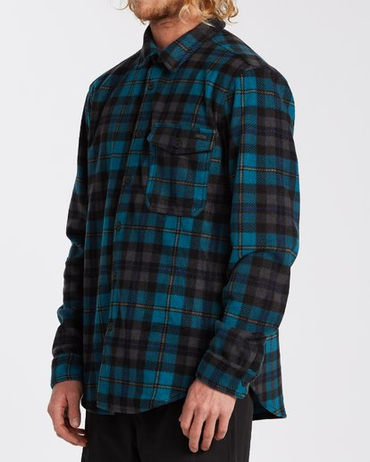 1 Furnace Flannel Blue M6273BFF Billabong