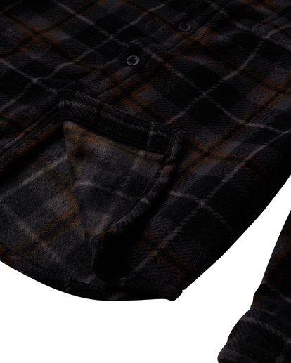 3 Furnace Flannel Shirt Black M627VBFF Billabong
