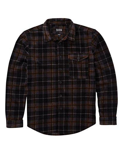 0 Furnace Flannel Shirt Black M627VBFF Billabong