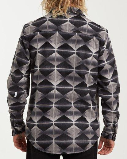 2 Furnace Flannel Shirt Black M627VBFF Billabong