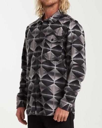 1 Furnace Flannel Shirt Grey M627VBFF Billabong