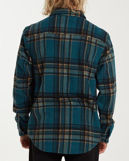2 Furnace Flannel Shirt Green M627VBFF Billabong