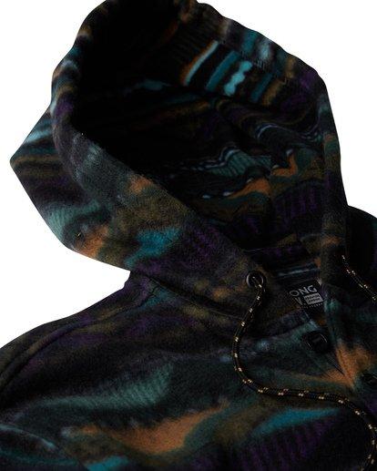 2 Furnace Long Sleeve Anorak Black M633VBFA Billabong