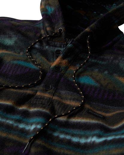 3 Furnace Long Sleeve Anorak Black M633VBFA Billabong