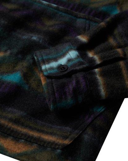 4 Furnace Long Sleeve Anorak Black M633VBFA Billabong