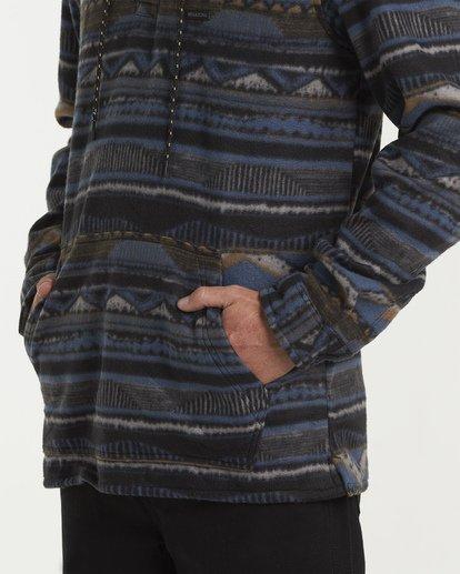 3 Furnace Long Sleeve Anorak Blue M633VBFA Billabong